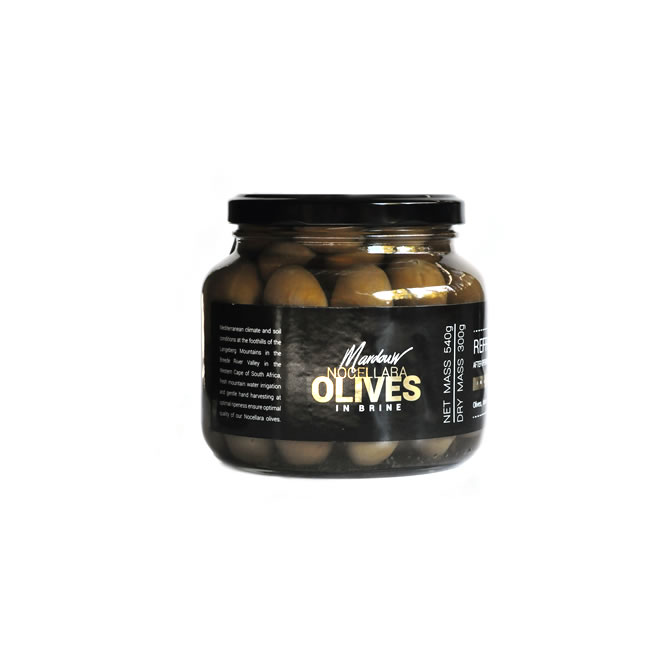 Mardouw South Africa Nocellara Table Olives