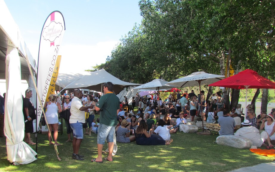 Mardouw at the Wine on the River festival in Robertson