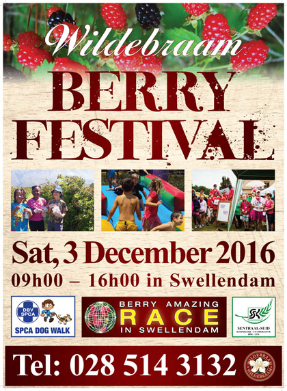Wildebraam Berry Festival Swellendam
