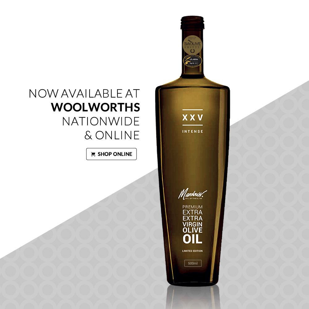 Mardouw Olive Oil at Woolworths