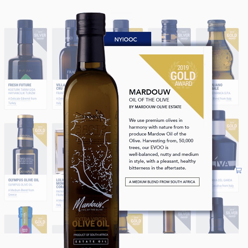 NYIOOC New York Gold Extra Virgin Olive Oil