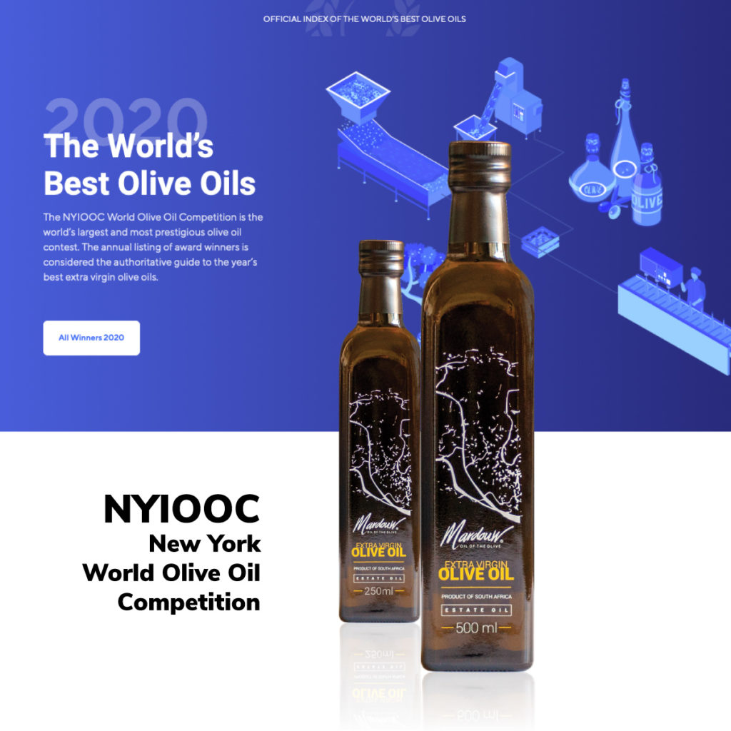 New York International World Olive Oil Competition South Africa
